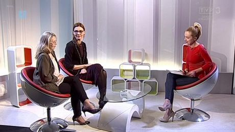 23.02.2017, Curie Talks, goście: Agata Jasińska, Iwona Tokorczuk