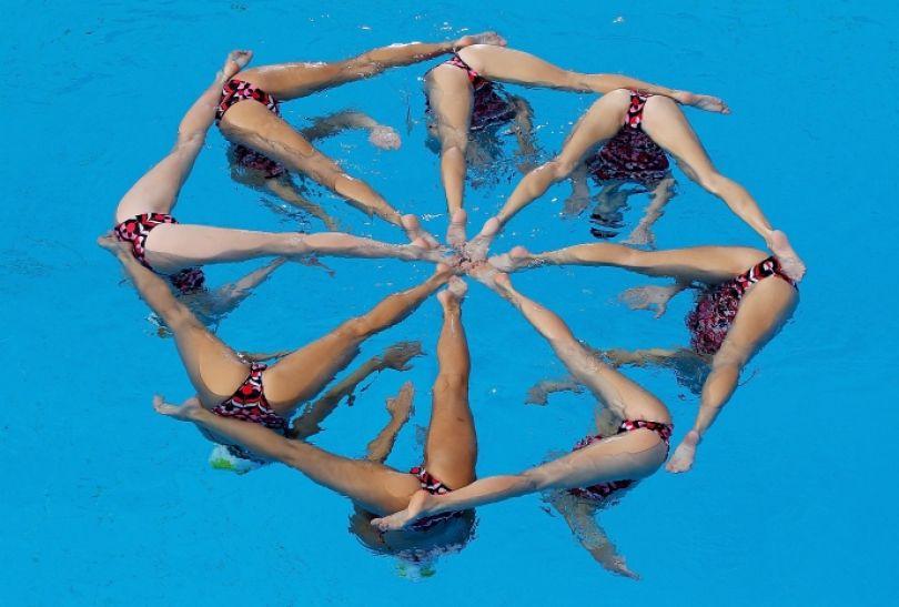 Imponujący układ australijskiej drużyny (fot. Getty Images)