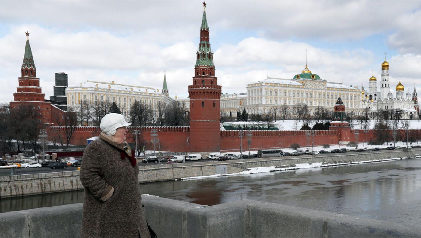 Kreml nie przyznaje się do udziału w zamachu na Siergieja Skripala i jego córkę (fot. PAP/EPA/YURI KOCHETKOV)