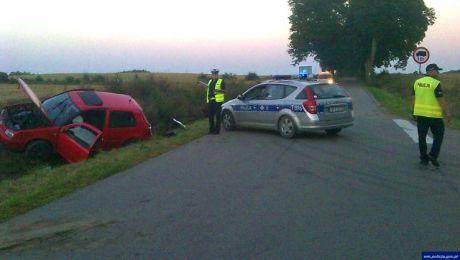 Pięć osób zostało rannych w wyniku wypadku pod Ostródą (fot. KWP Olsztyn)