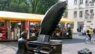 Pomnik Rubinsteina w Łodzi