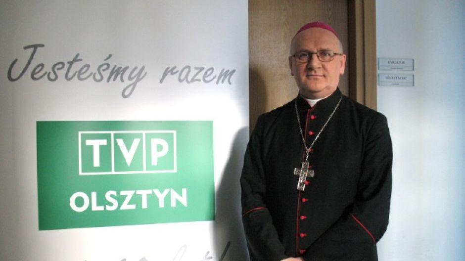 Abp Józef Górzyński, arcybiskup koadiutor archidiecezji warmińskiej.