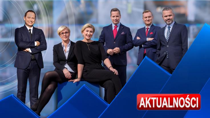 """Prezenterzy """"Aktualności """" TVP3 Rzeszów"""