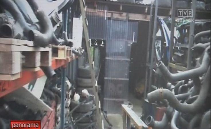 Gang złodziei samochodów rozbiła słupska policja