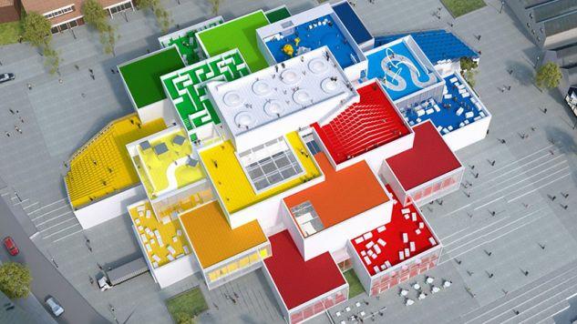 Architektura na najwyższym poziomie może być zabawna (fot. www.lego.com)