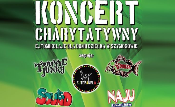 11 grudnia w Olsztynie odbędzie się Koncert Charytatywny na rzecz dzieci z Szymonowa.