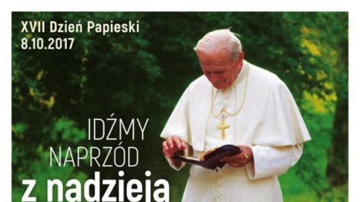 Dzień Papieski (plakat organizatora)