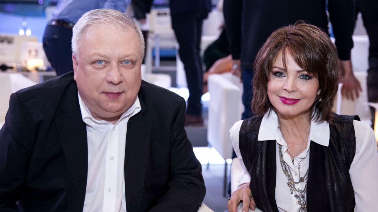Gośćmi byli znani dziennikarze, aktorzy... (fot. Natasza Młudzik/TVP)