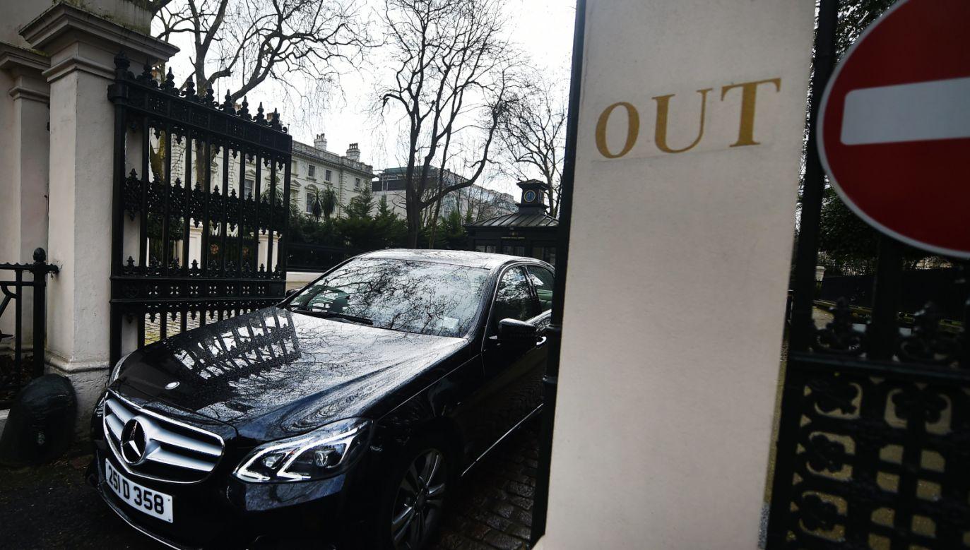 Brytyjska premier Theresa May oskarżyła o próbę otrucia byłego agenta rosyjskie tajne służby (fot. PAP/EPA/ANDY RAIN)