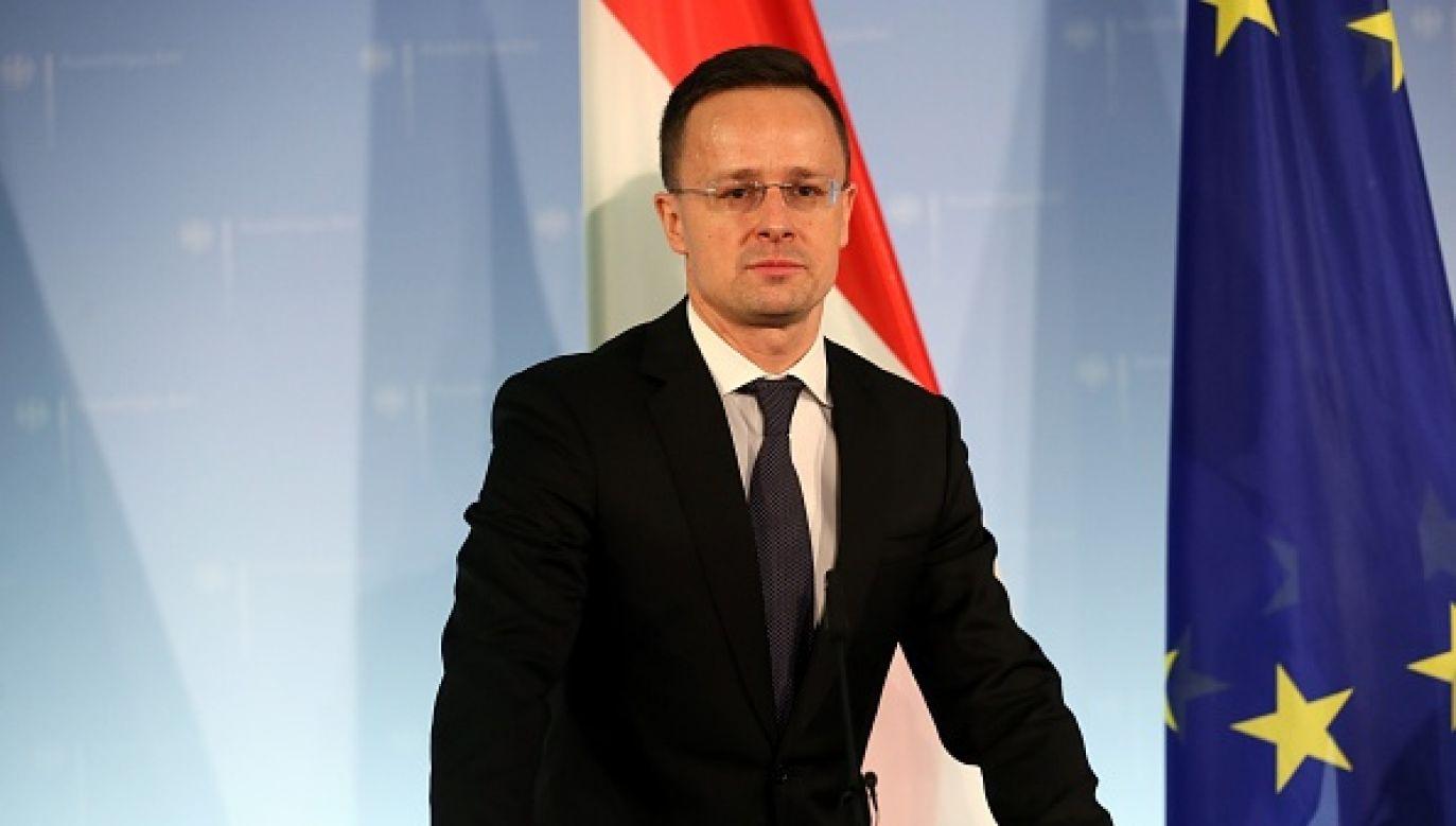 Peter Szijjarto zareagował na słowa ministra spraw zagranicznych Luksemburga (fot. Cuneyt Karadag/Anadolu Agency/Getty Images)