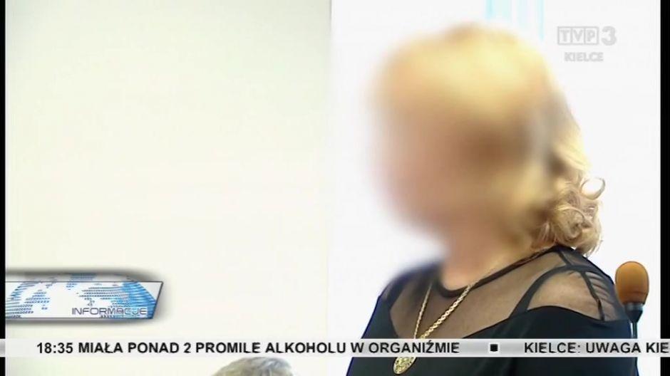 Oskarżona - Małgorzata S.