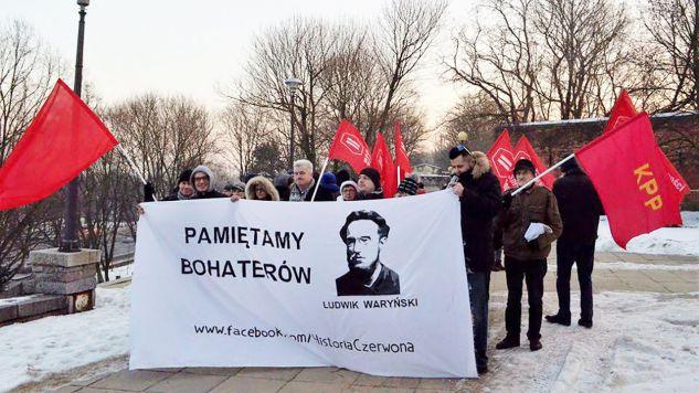 Komunistyczna Partia Polski działa od 16 lat (fot. tt/@cpofpoland)