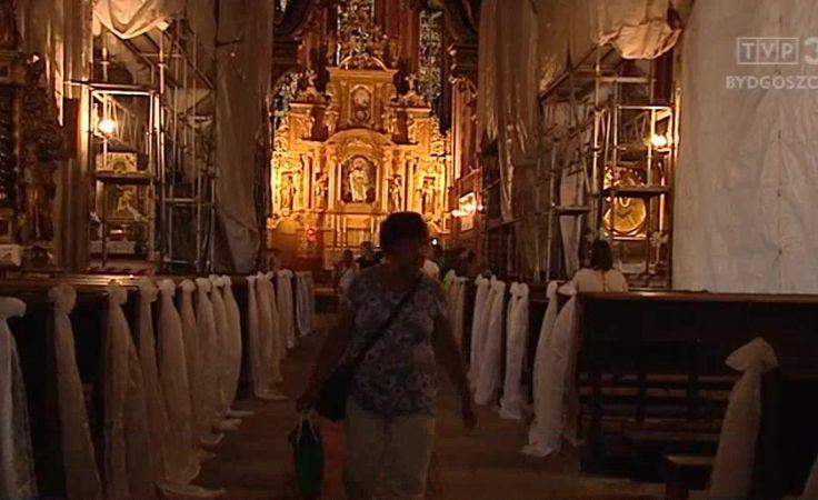 Kontrola w zabytkowym kościele św. Jakuba w Toruniu