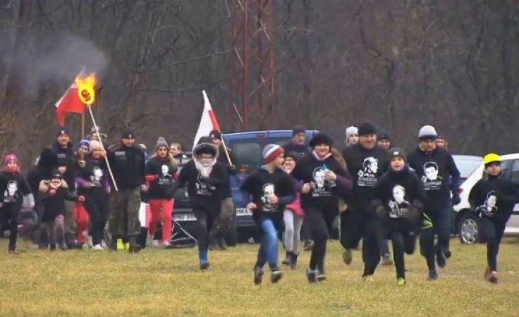 """Tysiące pobiegły """"Tropem Wilczym"""", w Olsztynie uczczono gen. """"Nila"""""""