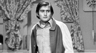 """""""Kapelusz pełen deszczu"""", spektakl Teatru Telewizji z 1975 roku, fot.M.Stankiewicz"""