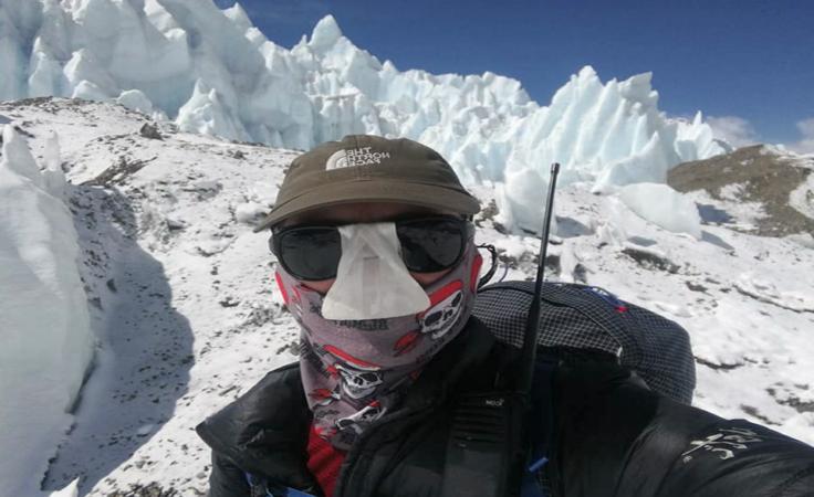 Łukasz Łagożny z Sanoka zdobył Mount Everest