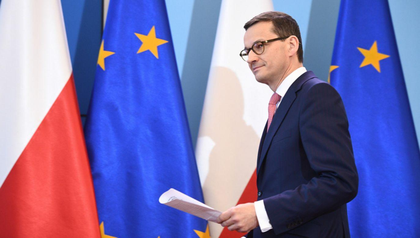 Premier Mateusz Morawiecki spotka się z przedsiębiorcami (fot. PAP/Jacek Turczyk)