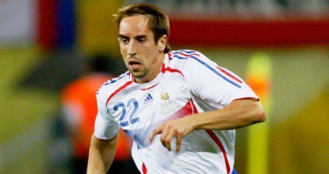 Ribery po raz pierwszy zagrał w narodowych barwach w 2006 roku, tuż przed mundialem w Niemczech (fot. Getty Images)