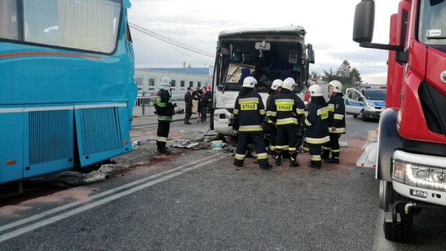 Zderzyły się dwa autokary z dziećmi. Są ranni