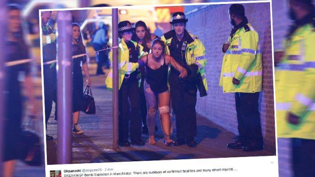 Eksplozja w hali Manchester Arena. Policja: 22 osoby nie żyją, wśród ofiar są dzieci