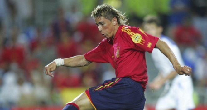 Torres debiutował w kadrze w 2003 roku jako 19-latek (fot. Getty Images)