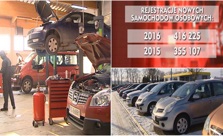Rynek motoryzacyjny w Polsce przechodzi renesans