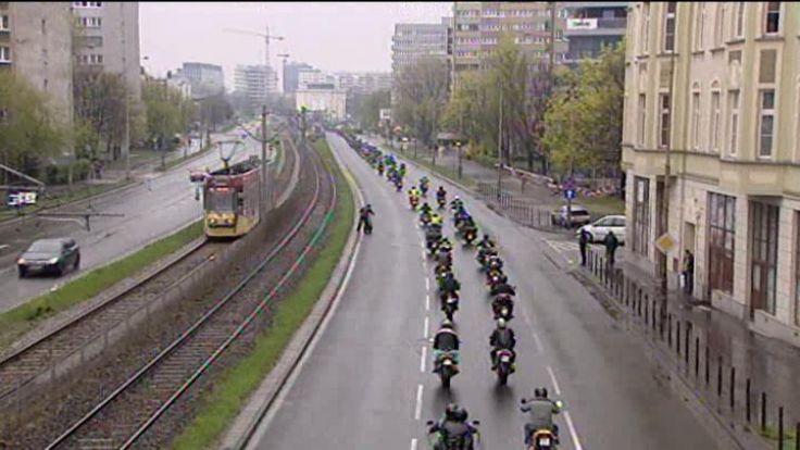 W paradzie wzięło udział 1,5 tysiąca motocyklistów
