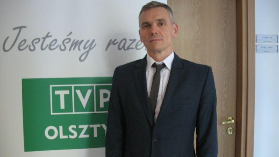 Robert Nowak, prezes MPEC w Olsztynie
