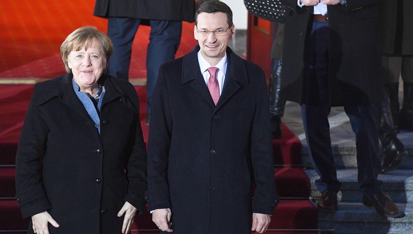 Polska jest drugim po Francji celem wizyty zagranicznej Merkel (fot. PAP/Radek Pietruszka)