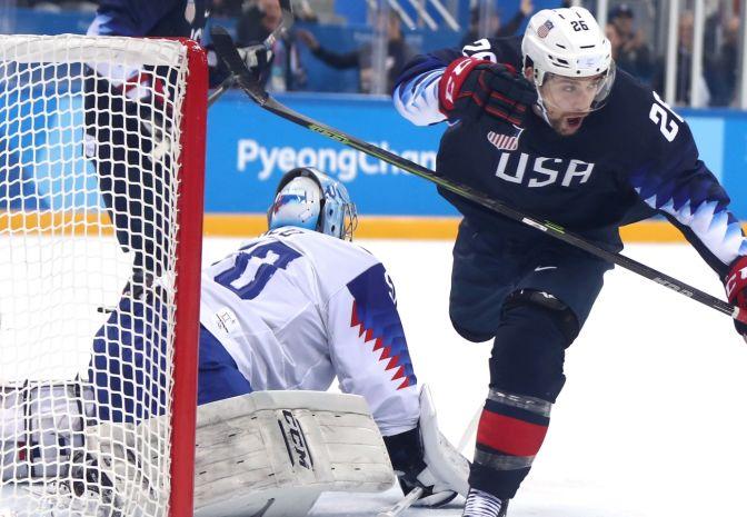 USA w ćwierćfinale. Słowacja bez szans
