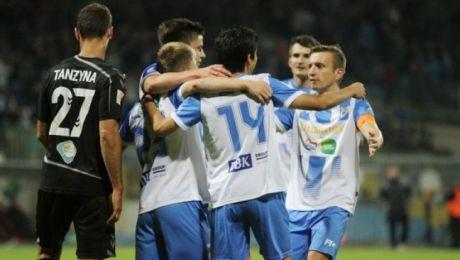W tabeli Pierwszej Ligi olsztynianie zajmują 14 miejsce (fot. stomil.olsztyn.pl)
