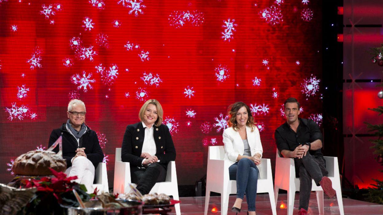 Do rundy finałowej dotarły pary: Małgorzata Ostrowska-Królikowska i Dariusz Jakubowski oraz Stanisław Karpiel – Bułecka  i Ilona Ostrowska (fot. Natasza Młudzik/TVP)