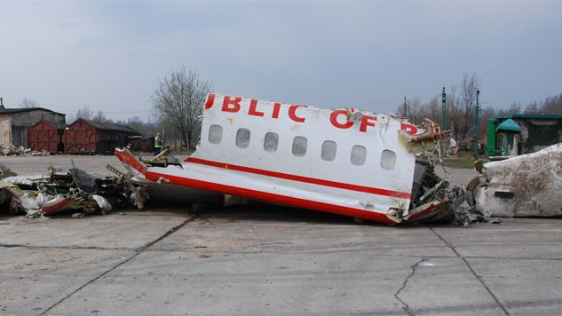 Wrak Tu-154 nadal pozostaje na terytorium Rosji (fot. Komisja Laska/cc)