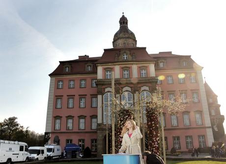 Zamek Książ zachwyca w majowy weekend