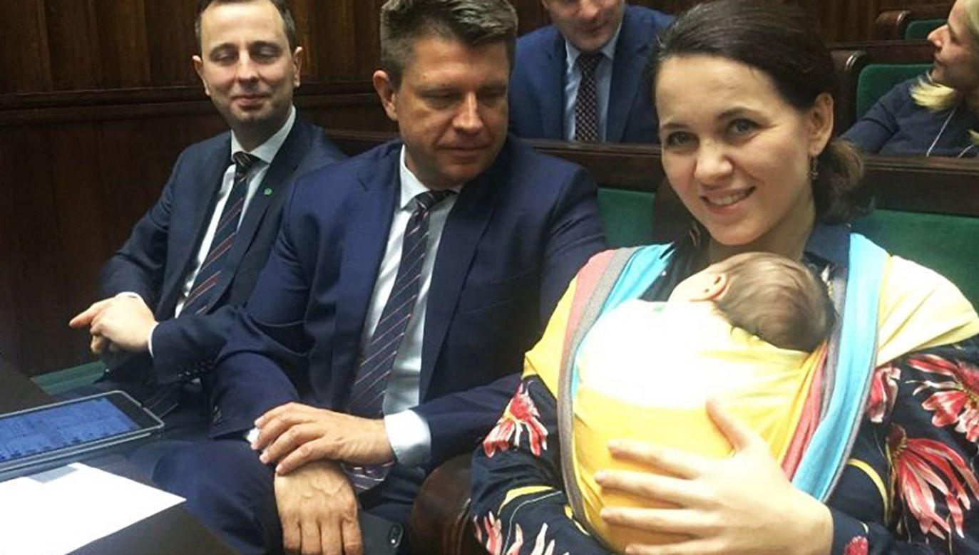 Posłanka Nowoczesnej Kornelia Wróblewska (fot. tt/@AniaWloch)
