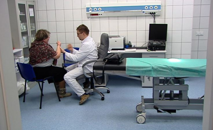 SOR w szpitalu przy Kościuszki.