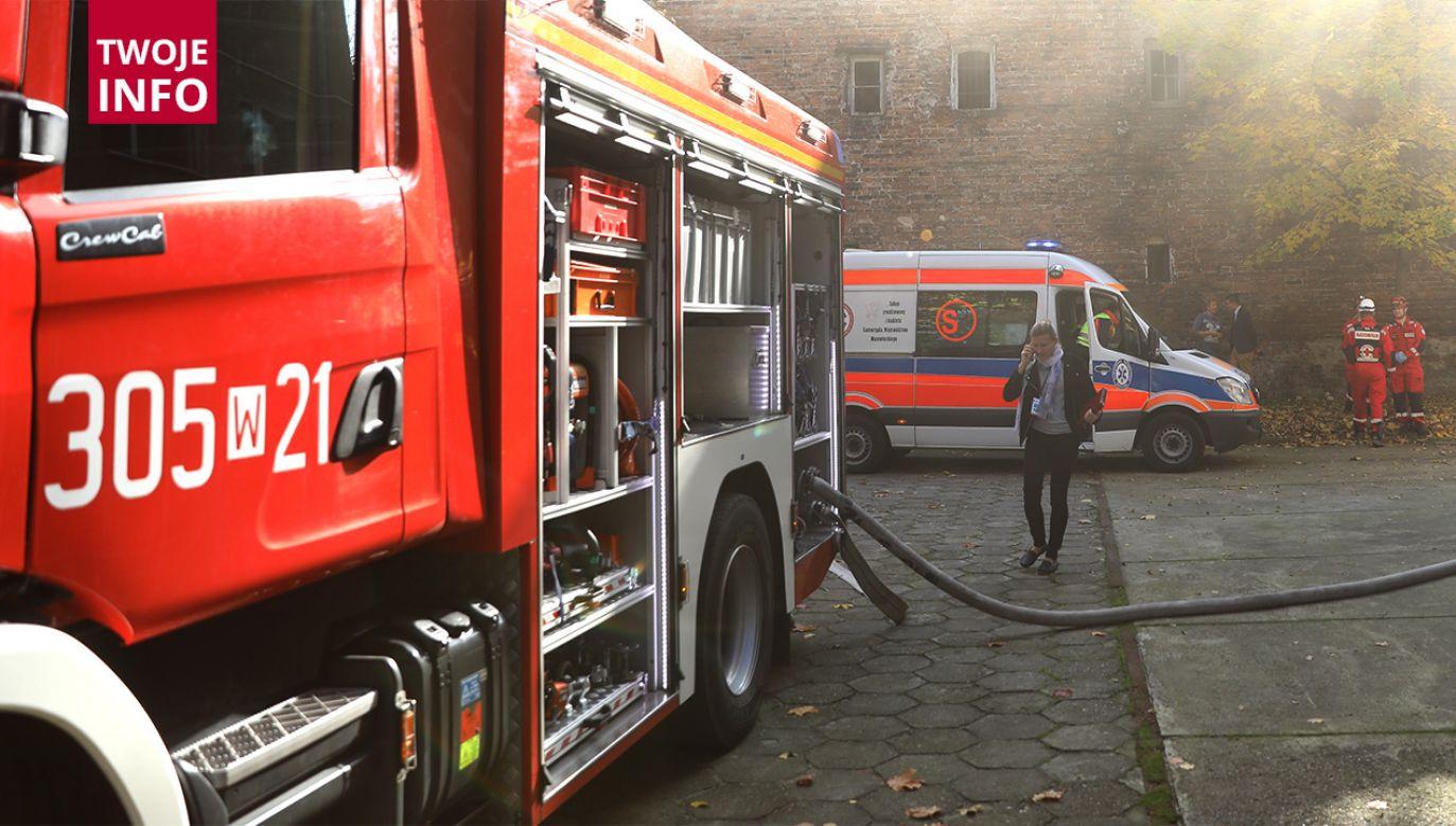 Dwie ofiary pożaru w Prudniku (fot. arch.PAP/Rafał Guz)