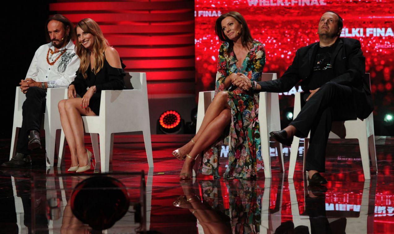 Zwycięzcy w finale pokonali Martę Piasecką i Stana Borysa (fot. TVP/N.Młudzik)