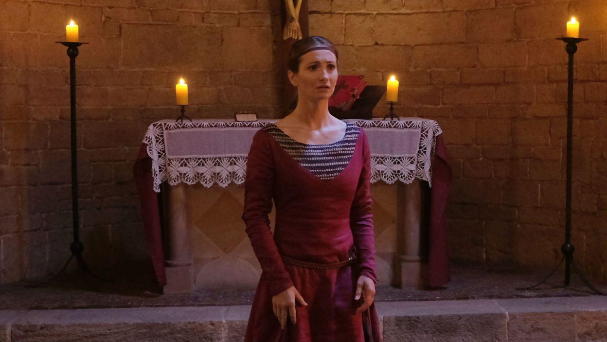 Król Kazimierz postanawia wysłać Helenę do Świdnicy, aby tam znalazła męża i szczęście (fot. TVP)