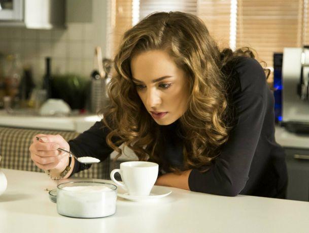 Bo kawa była za słona – scena z odc. 258