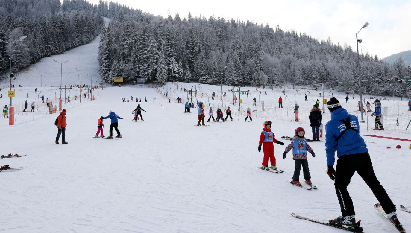 Zima na Podhalu (fot. PAP/Grzegorz Momot)