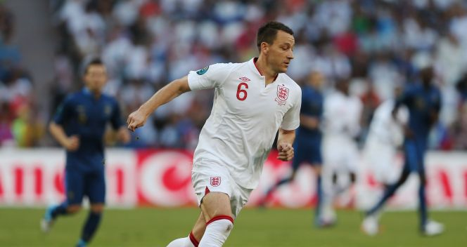 Były kapitan Anglików - John Terry (fot. Getty)