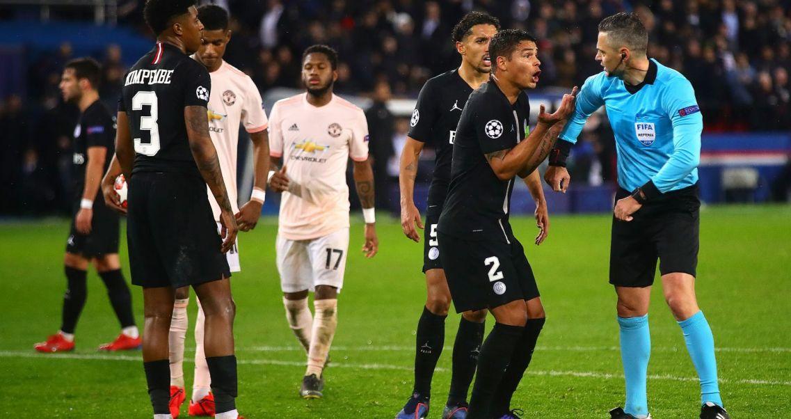 Rewanżowy mecz PSG – Manchester United w 1/8 finału Ligi Mistrzów (fot. Getty Images)