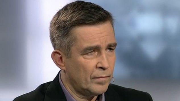 Zbigniew Gryglas stwierdził, że KOD najwyraźniej nie dopilnował, kto podpisuje odezwę (fot. TVP Info)