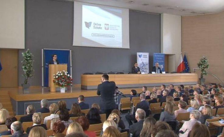 Reforma oświaty. Minister edukacji z wizytą w Olsztynie