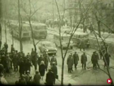Marzec '68 - milicyjny zapis - dokument