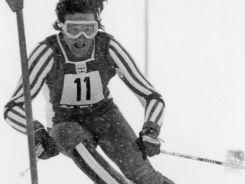 Piero Gros – złoty medalista rywalizacji w slalomie (fot. Getty Images)