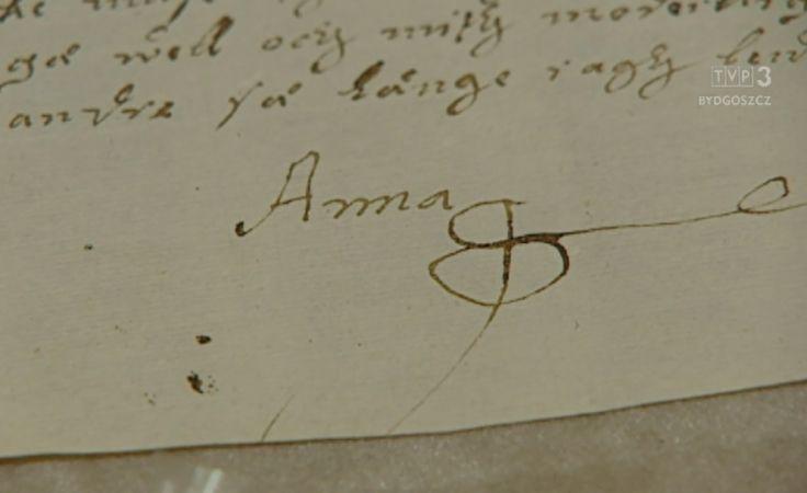 Listy księżniczki Anny do podziwiania na wystawie