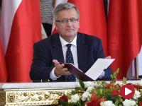 """""""Prezydent  włączy się w kampanię referendalną"""". """"JOW-y zabetonują polską scenę polityczną"""""""