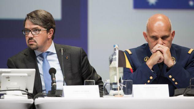 Frederic Van Leeuw (L) chce kar za wchodzenie na strony internetowe dżihadystów (fot. Freek van den Bergh/Getty Images)